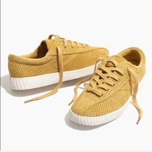 Madewell x Tretorn Perforated Platform Sneakers
